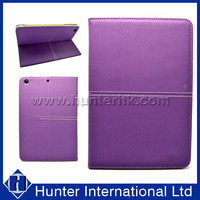 Purple Color Machine Made Tablet Case For iPad Mini