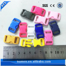 30 kinds of color 10mm little plastic buckle for dog collar
