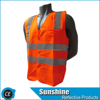 OEM Hi vis Retro-reflective Safety Vest