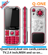 KOMAY China gsm phone Q-ONE- 2015 new product cell phone bar phone