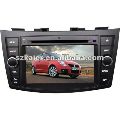 "7"" Car Auto Multimedia DVD Player for Suzuki Swift with 8CD Virtual and and Navigation"