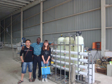 2000L/H Pure Water Treatment With Reveres Osmosis System