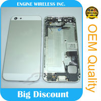 oem for iphone 5 champagne gold housing,made in china