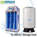 300 GPD Commercial Revese Osmosis Water Purifier with Big Capacity Aqua Tank