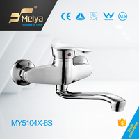 China zhejiang MEIYA zinc Russia long spout kitchen shower tapware