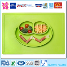New Design Silicone Baby Dining Table Mat With Bowl Set