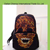 Cute Design Backpack fashion canvas Colorful skull Rucksack Wholesale