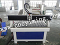 acrylic cnc carving machine with single head