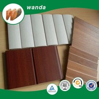slotted/melamine mdf/12mm slotted board/slatwal display