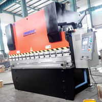 Bohai Brand hydraulic metal sheet folding/folder machine model wd67y 40t 2500