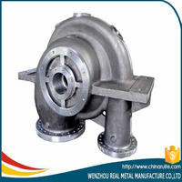 stainless steel pump cover/body casting pump casting