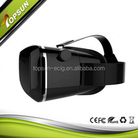 Black Cardboard 3D Vr Glasses 3D googles For Cellphone