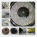 NEW style,7 speed+diac brake,48V 1000W Rear Wheel electric bike conversion kits with brushless gearless hub motor