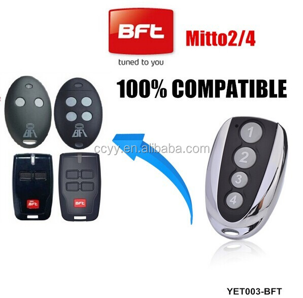 Home automation bft mitto 2 button transmitter/remote replace for Garage door