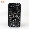 Ndhouse 2017 Cheapest Real Flower Back Cover For Iphone 7 Plus Glitter Phone Case