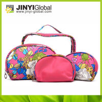2014 customized design cosmetic bag organizer tas neoprene cosmetic bag