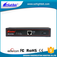 HighTek HK-8104A Flow control RTS/CTS, XON/XOFF 4-port RS232 serial device server