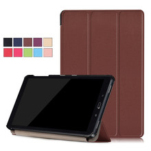 Ultra Slim Lightweight Tri-Fold Stand Cover For Samsung Tab S3 9.7 S2 J Max Tablet Case For Samsung Galaxy Tab A 10.1