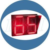 solar traffic light digit
