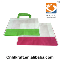 Hot Selling Various Color custom reusable shopping bag