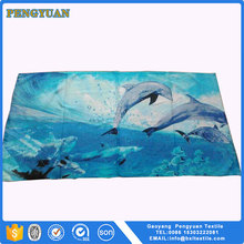 quality product brand name oem printing thin beach towel