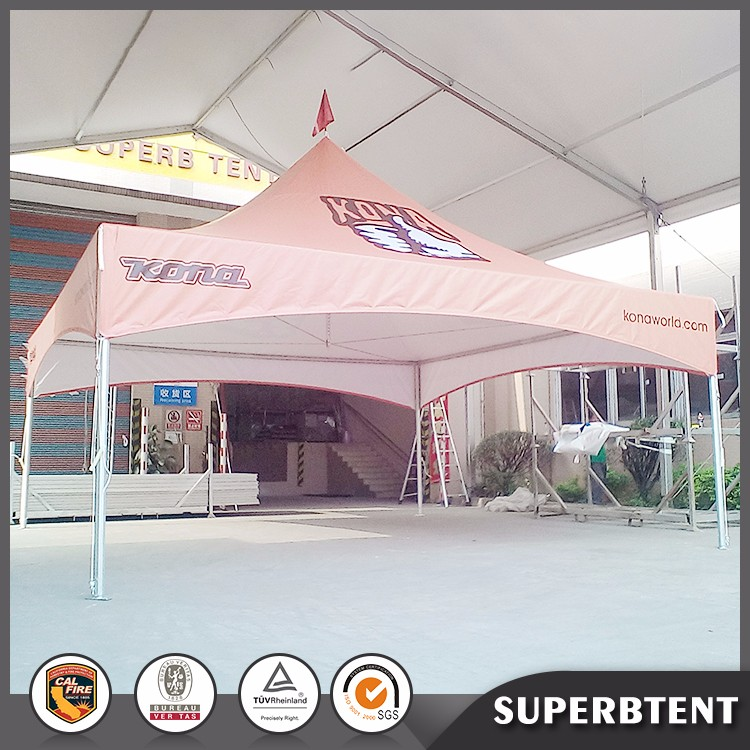Top quality windproof and waterproof red gazebo tent 2x2