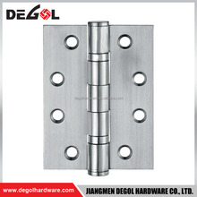 High quality brushed nickel stainless steel double sided door hinge