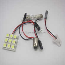 Guangzhou wholesale PCB car roof dome 5050 9smd 12v led indicator lights