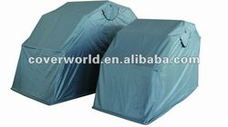 powder coated steel frame motorcycle cover