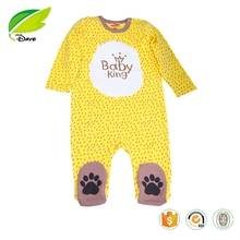 Hot Sale cute lion cotton Baby Romper Infants & Toddlers clothing Baby Clothes/ Baby rompers