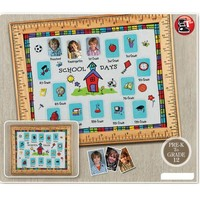 Welcome OEM ODM school days gallery multi opening wood photo frame, paste/ sticker school baby picture frames