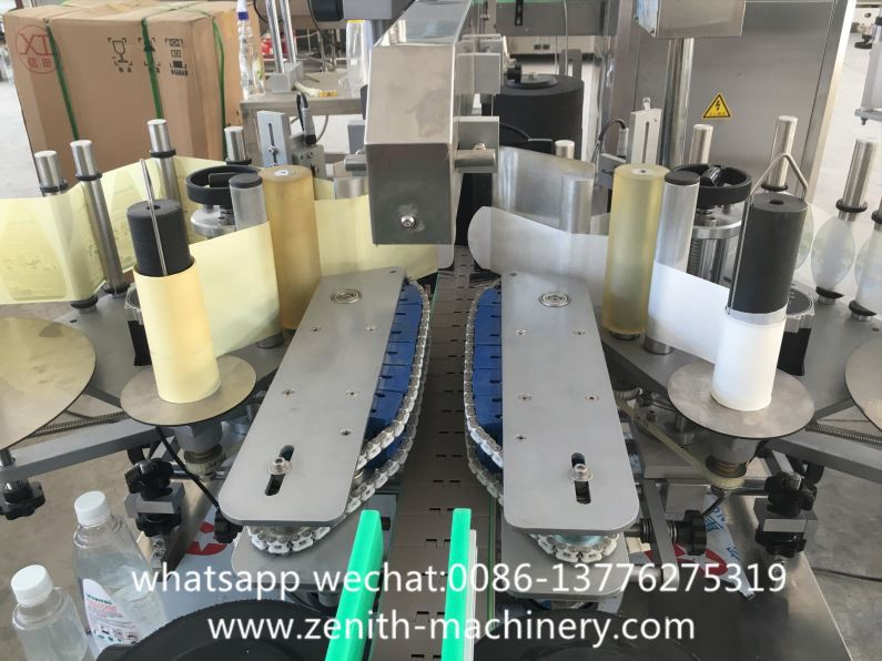 Automatic Indent For Flat Bottle Adhesive Labeling Machine
