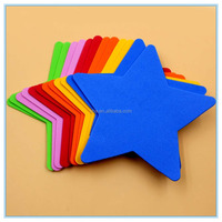 EVA Craft for Kids Educational Design with Multi-color EVA Star Foam Shape 1.5mm