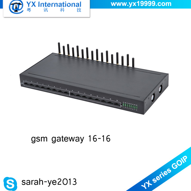 Made In China goip 16/16 imei change voip sip gateway lte 4G 16 port ussd gateway