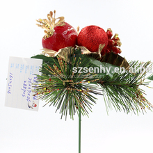 Christmas Wreath Decorations Picks Christmas Glitter Picks