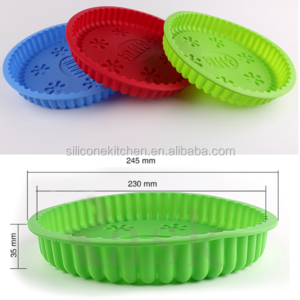 silicone round patty cake pan silicone microwave safe pizza pan