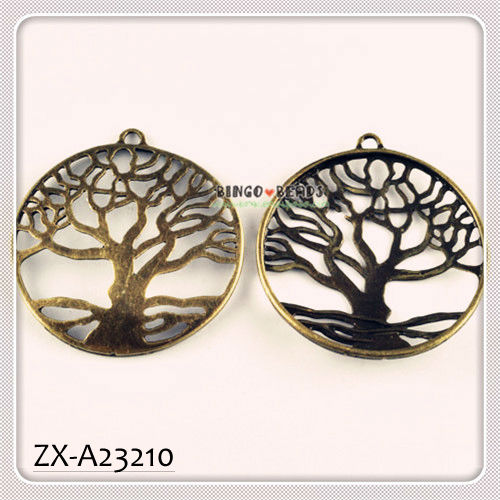 TREE OF LIFE ANTIQUED BRONZE FENGSHUI CHARM