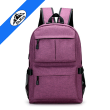 custom waterproof usb travel back pack smart laptop backpack bag with charger