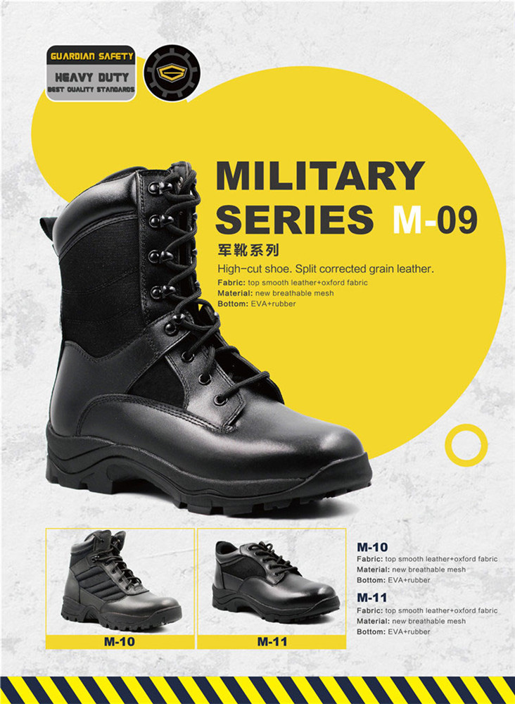 high quality cheap waterproof military boot, military shoe