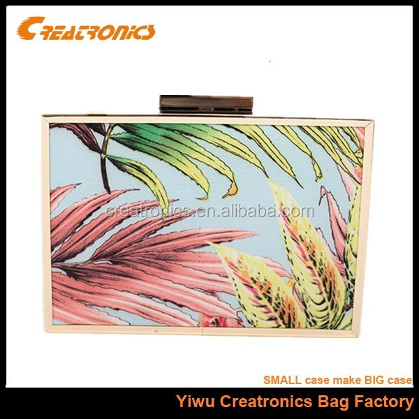 Wholesale bags hard case clutch