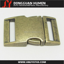 1 inch antique brass buckles,insert backpack buckles metal material