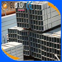 waterproof building materials ! gi rectangular hollow sections black iron pre-galvanized steel pipe/tube