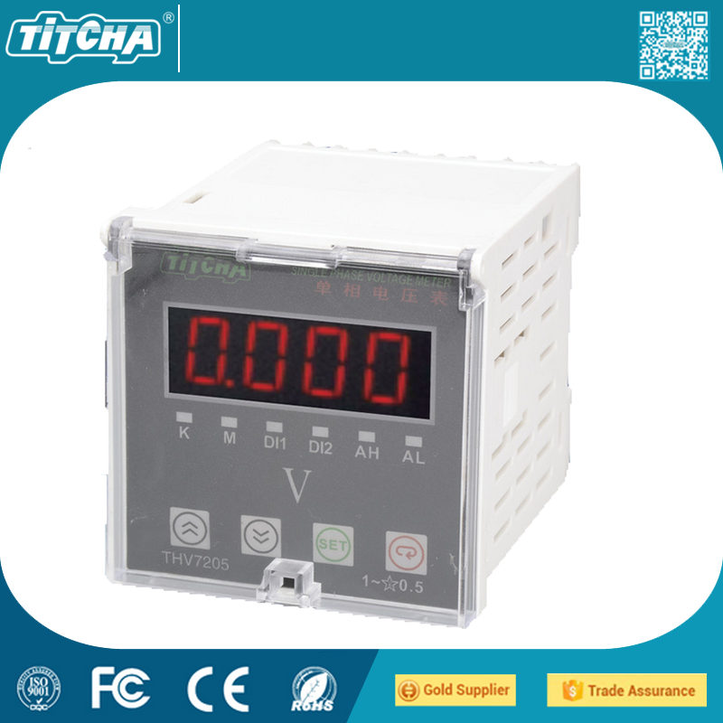 TH72 * 72 Programmable Intelligent LCD Instrumentation Multifunction Power Meter Single Phase Intelligent Programmable