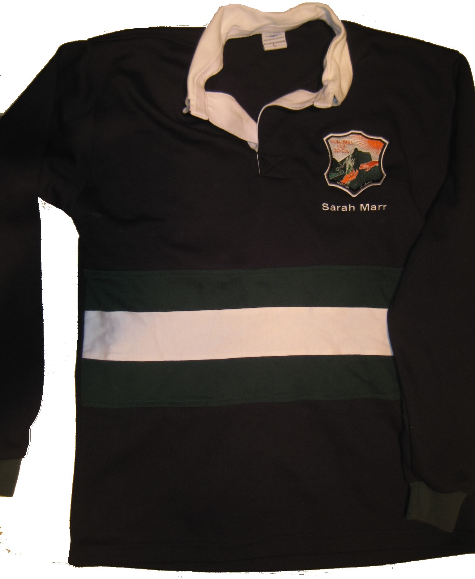 Year 12 Jumpers in Black & Cream Color
