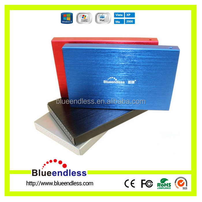 "Slim 2.5"" hdd box USB 3.0 TO 2.5 SATA hdd enclosure hard disk enclosure with a low price lan hdd case"