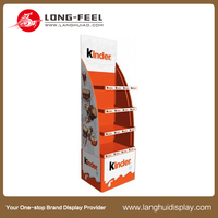 custom retail promotional wine cardboard stand/cardboard floor display/pop up cardboard display