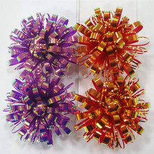 Various Iridescent Plastic Curly Ribbon Bow