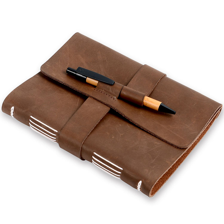 Top Grade A5 School Diary Vintage Leather Journal Notebook