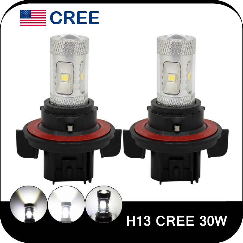 High Power Car Crees H13 Led Fog Lamp Auto H13 Led Light 30w