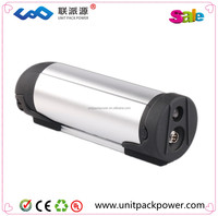 Silver Bottle Lithium Bttery 36volt Ebike Battery 36v 14ah With Imported Cell